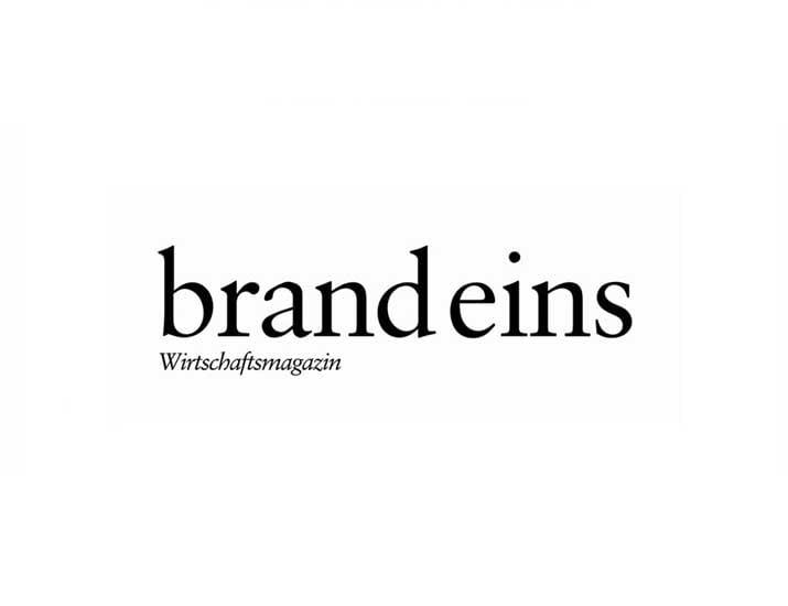 Brand eins Logo